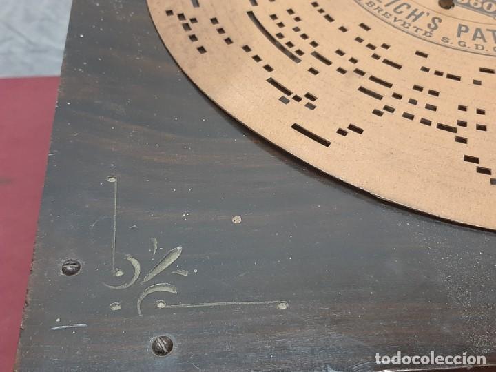 Instrumentos musicales: CAJA DE MUSICA ARISTONETTE DE ADOLFO GASCON ( ALMACEN DE MUSICA). MURCIA. CO XIX - Foto 4 - 203827501