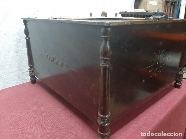 Instrumentos musicales: CAJA DE MUSICA ARISTONETTE DE ADOLFO GASCON ( ALMACEN DE MUSICA). MURCIA. CO XIX - Foto 8 - 203827501