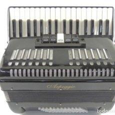 Instrumentos musicales: ANTIGUO ACORDEÓN MARCA ARPRGGIO AUTENTICO INSTRUMENTO MUSICAL. Lote 203953920