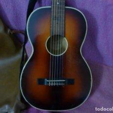 Instrumentos musicales: ANTIGUA GUITARRA ALEMANA WILLY ESSBACH. Lote 204087152