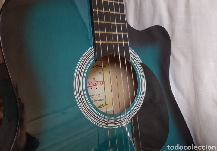 Instrumentos musicales: Guitarra acustica FREEDOM - Foto 12 - 204511067