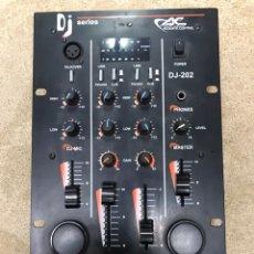 Instrumentos musicales: MESA DE MEZCLAS DJ SERIES ACOUSTIC CONTROL 202. Lote 204640510