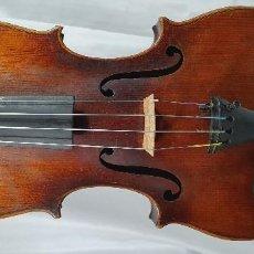 Instrumentos musicales: VIOLIN ANTIGUO DE ORIGEN ALEMÁN. Lote 204693585
