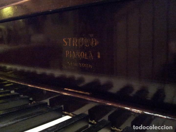 Instrumentos musicales: Piano Pianola Stroud New York - Foto 5 - 204740112