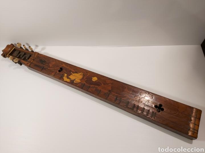 Instrumentos musicales: ANTIGUO INSTRUMENTO MUSICAL EPINETTE DES VOSGES - Foto 2 - 204757181
