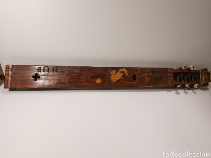 Instrumentos musicales: ANTIGUO INSTRUMENTO MUSICAL EPINETTE DES VOSGES - Foto 3 - 204757181