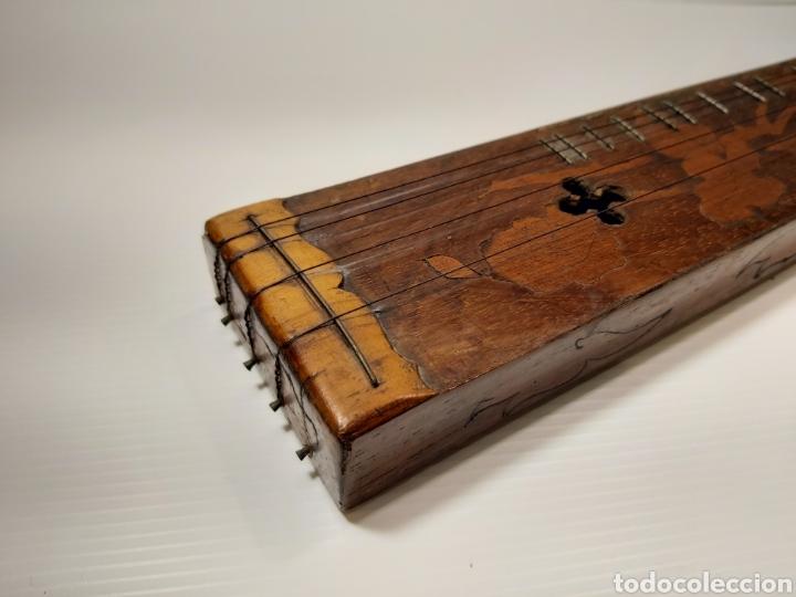 Instrumentos musicales: ANTIGUO INSTRUMENTO MUSICAL EPINETTE DES VOSGES - Foto 4 - 204757181