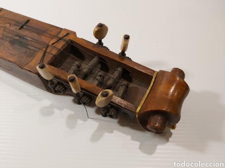 Instrumentos musicales: ANTIGUO INSTRUMENTO MUSICAL EPINETTE DES VOSGES - Foto 6 - 204757181