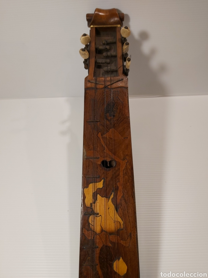 Instrumentos musicales: ANTIGUO INSTRUMENTO MUSICAL EPINETTE DES VOSGES - Foto 9 - 204757181