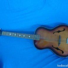 Instrumentos musicales: GUITARRA JAZZ DE LOS 60 SIN TRASTES,POSÍBLEMENTE FRAMUS. Lote 204773102