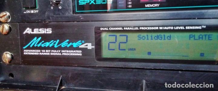 Instrumentos musicales: Alesis MidiVerb 4 Procesador de Señal. MULTIEFECTOS - Foto 3 - 205095057