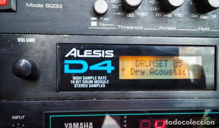 Instrumentos musicales: Alesis D4 Drum Module. Módulo batería - Foto 4 - 205095575