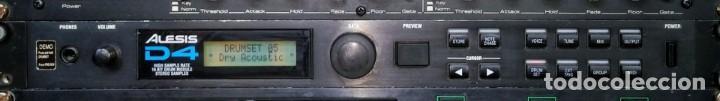 Instrumentos musicales: Alesis D4 Drum Module. Módulo batería - Foto 2 - 205095575