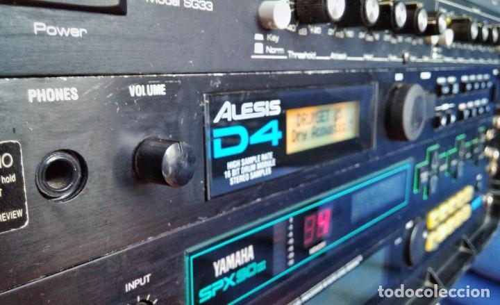 ALESIS D4 DRUM MODULE. MÓDULO BATERÍA (Música - Instrumentos Musicales - Teclados Eléctricos y Digitales)
