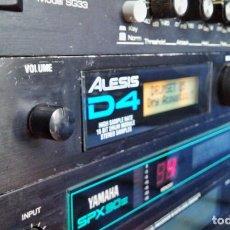 Instrumentos musicales: ALESIS D4 DRUM MODULE. MÓDULO BATERÍA. Lote 205095575