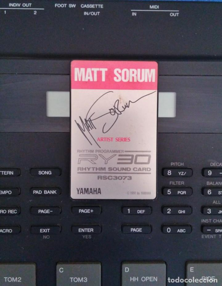 "Tarjeta de sonido RSC 3073 ""MATT SORUM"" para Yamaha RY30, usado segunda mano"
