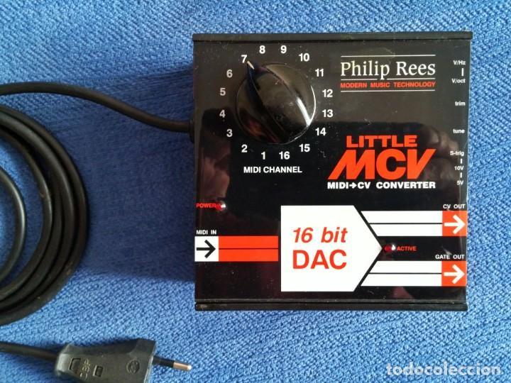 Instrumentos musicales: Little MCV Midi a CV CONVERTIDOR. Philip Rees - Foto 3 - 205097147