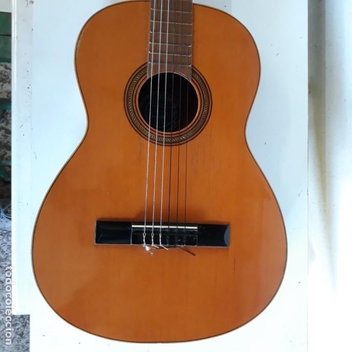 GUITARRA RAMIREZ PARA RONDALLA,AÑOS 70. (Música - Instrumentos Musicales - Guitarras Antiguas)