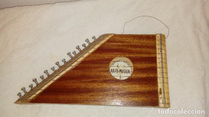 CÍTARA (Música - Instrumentos Musicales - Cuerda Antiguos)