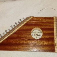 Instrumentos musicales: CÍTARA O ARPA MUSICAL. Lote 205240365