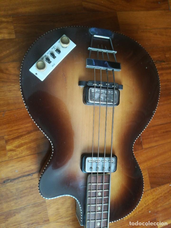 Instrumentos musicales: HOFNER T20 por Enrique Keller ,no hay otro de estado igual,Impresionante,de museo - Foto 2 - 205262345