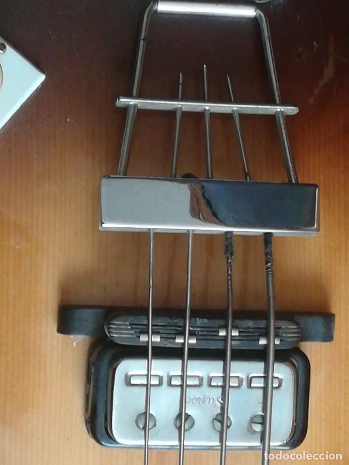 Instrumentos musicales: HOFNER T20 por Enrique Keller ,no hay otro de estado igual,Impresionante,de museo - Foto 4 - 205262345