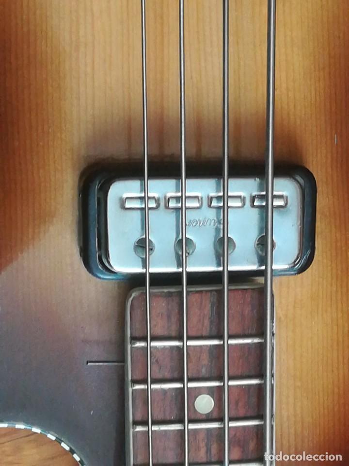 Instrumentos musicales: HOFNER T20 por Enrique Keller ,no hay otro de estado igual,Impresionante,de museo - Foto 5 - 205262345