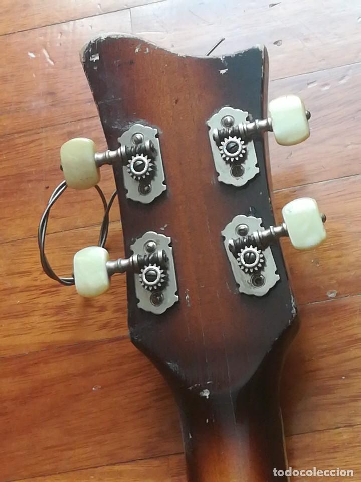 Instrumentos musicales: HOFNER T20 por Enrique Keller ,no hay otro de estado igual,Impresionante,de museo - Foto 11 - 205262345