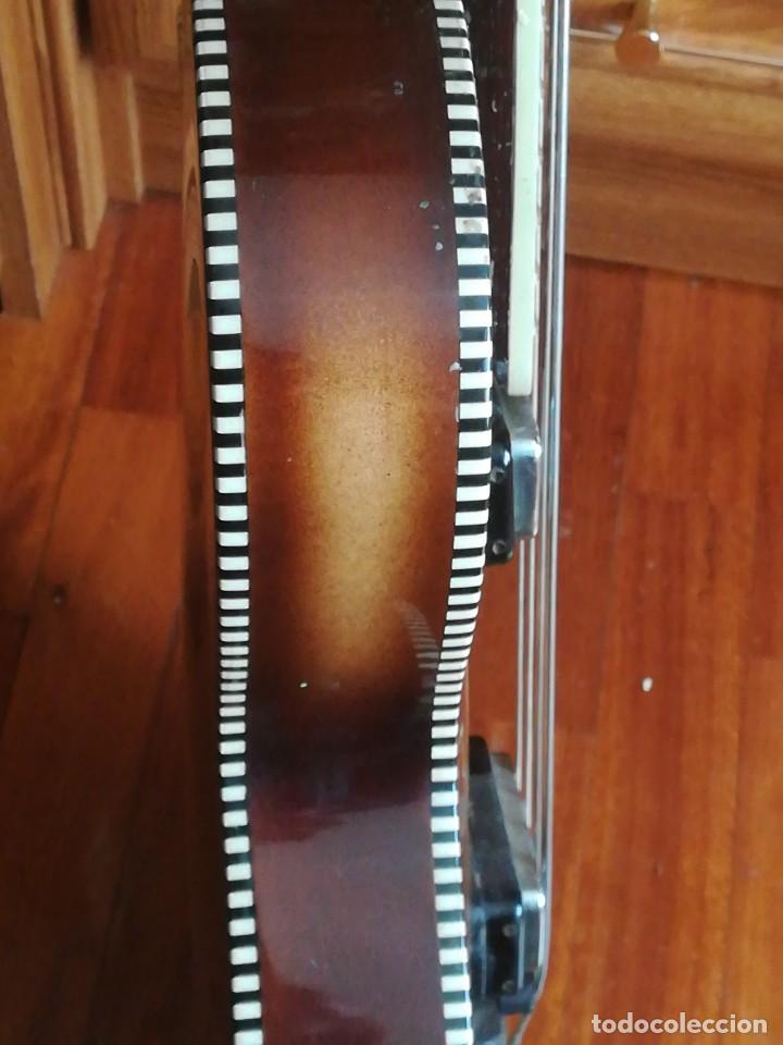 Instrumentos musicales: HOFNER T20 por Enrique Keller ,no hay otro de estado igual,Impresionante,de museo - Foto 13 - 205262345