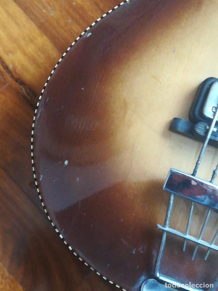 Instrumentos musicales: HOFNER T20 por Enrique Keller ,no hay otro de estado igual,Impresionante,de museo - Foto 16 - 205262345