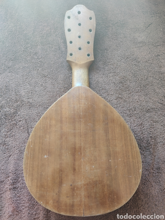 Instrumentos musicales: Guitarra Bandurria telesforo julve old mandolin - Foto 6 - 205279035