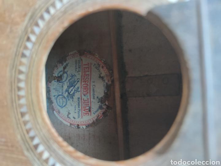 Instrumentos musicales: Guitarra Bandurria telesforo julve old mandolin - Foto 12 - 205279035