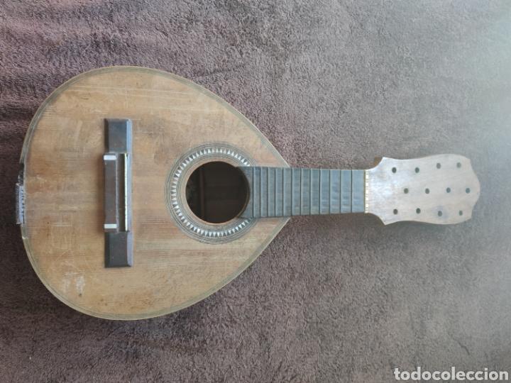 Instrumentos musicales: Guitarra Bandurria telesforo julve old mandolin - Foto 17 - 205279035