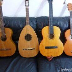 Instrumentos musicales: LOTE DE 2 GUITARRAS ANTIGUAS (LAS DEL CENTRO). Lote 205297268