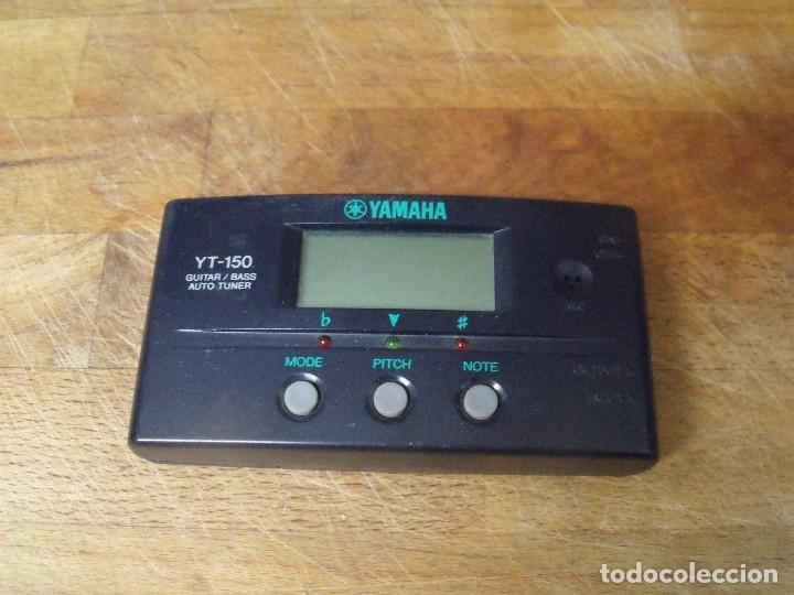 AFINADOR DE GUITARRAS YAMAHA YT-150-LOTE 256 (Música - Instrumentos Musicales - Accesorios)