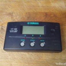 Instrumentos musicales: AFINADOR DE GUITARRAS YAMAHA YT-150-LOTE 256. Lote 205314915