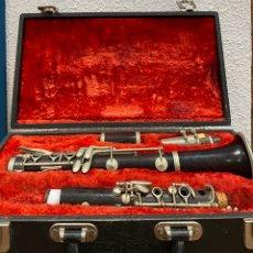 Instrumentos musicales: CLARINETE LEFEVRE PARIS. Lote 205370562