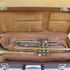 Instrumentos musicales: TROMPETA YAMAHA YTR 232. BOQUILLA Y CAJA FUNDA. Lote 205395683