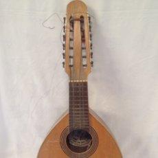 Instrumentos musicales: ANTIGUA BANDURRIA VICENTE TATAY TOMÁS VALENCIA. Lote 205446763