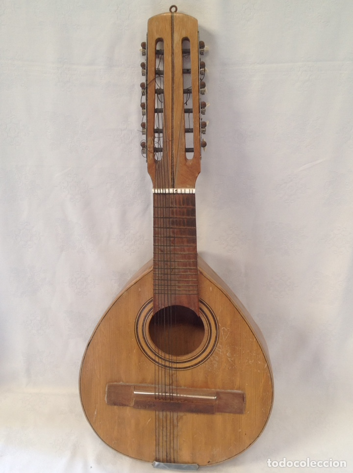 ANTIGUA BANDURRIA ESPAÑOLA PARA RESTAURAR (Música - Instrumentos Musicales - Cuerda Antiguos)