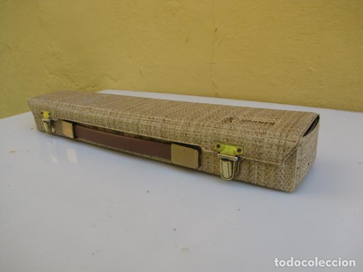 Instrumentos musicales: 3- Flauta Hohner madera y baquelita en su estuche original. - Foto 2 - 205453483