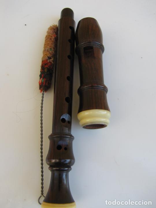 Instrumentos musicales: 3- Flauta Hohner madera y baquelita en su estuche original. - Foto 14 - 205453483
