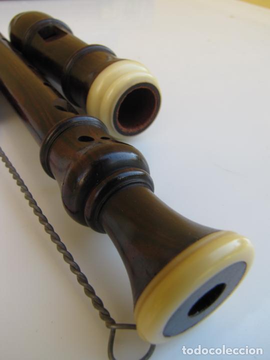 3- FLAUTA HOHNER MADERA Y BAQUELITA EN SU ESTUCHE ORIGINAL. (Música - Instrumentos Musicales - Viento Madera)