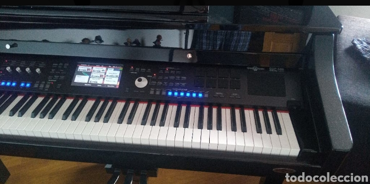 Instrumentos musicales: PIANO SEMICOLA INGLES GEAR 4 MUSIC GDP-400 NUEVO - Foto 4 - 205532940