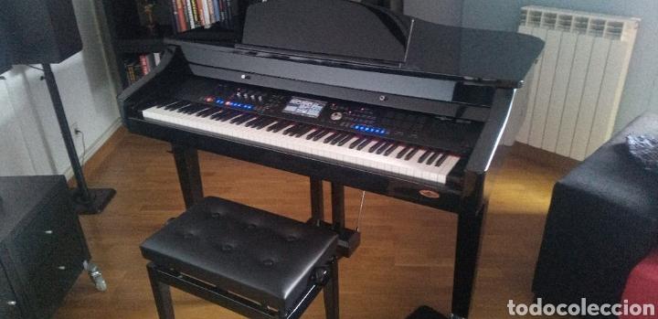 Instrumentos musicales: PIANO SEMICOLA INGLES GEAR 4 MUSIC GDP-400 NUEVO - Foto 5 - 205532940