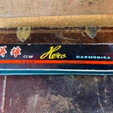 Instrumentos musicales: ARMÓNICA HARMÓNICA A ESTRENAR - HERO. Lote 205544907