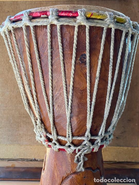 Instrumentos musicales: yembe TAMBOR AFRICANO - Foto 2 - 205545280