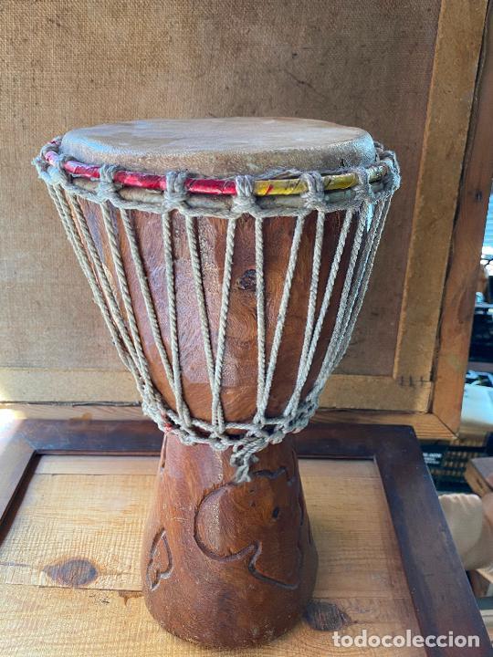 Instrumentos musicales: yembe TAMBOR AFRICANO - Foto 3 - 205545280