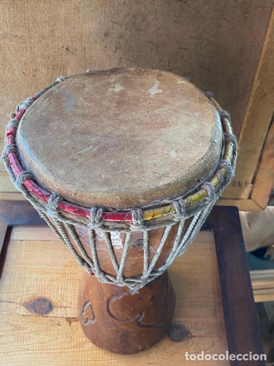 Instrumentos musicales: yembe TAMBOR AFRICANO - Foto 4 - 205545280