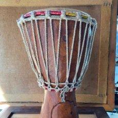 Instrumentos musicales: YEMBE TAMBOR AFRICANO. Lote 205545280